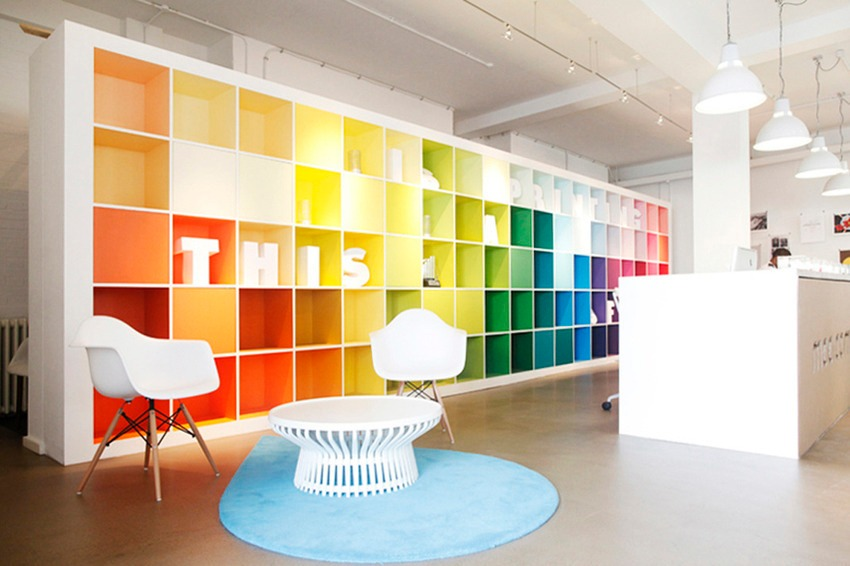 How do colors inspire employees at office?