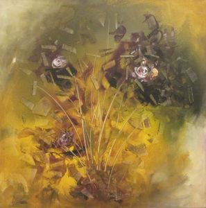flower 3, 24 x 24